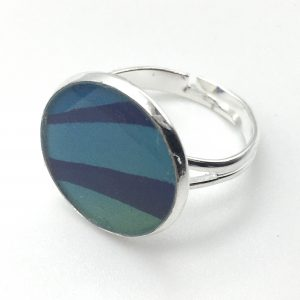 Medium Colour Fade Print Ring