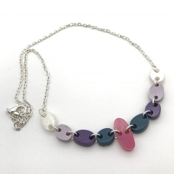 Multicoloured Pebbles Necklace