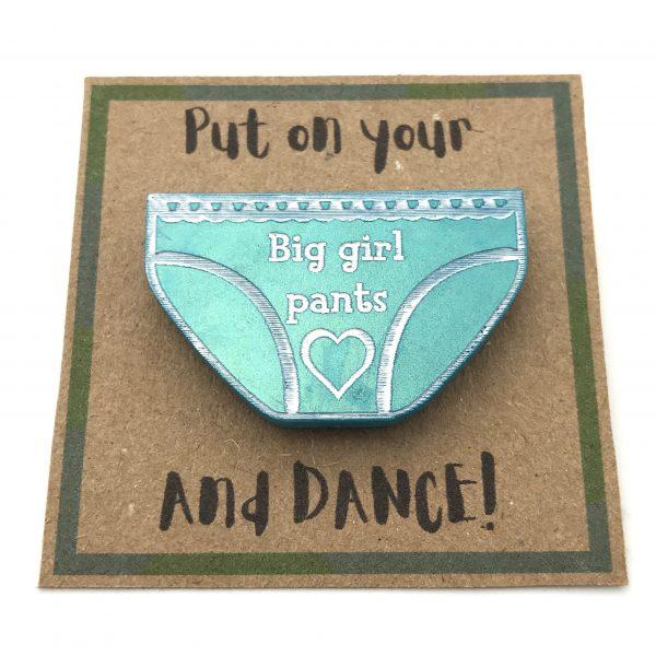 Big Girl Pants - Aquamarine