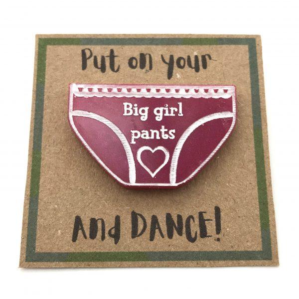 Big Girl Pants - Pink