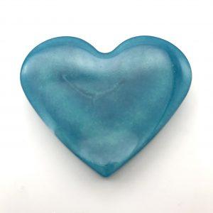 Heart Magnet - Aquamarine