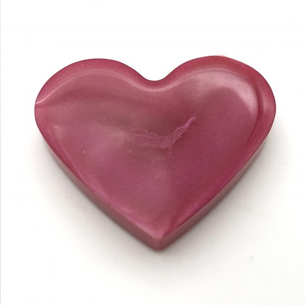 Heart Magnet - Pink
