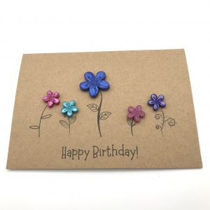 Flower Garden Greetings Card
