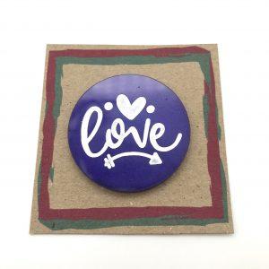 Round Love Purple 1