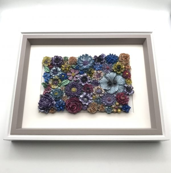 Flowers Galore Wall Hanging - Pastel Mix