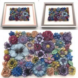 Flowers Galore Wall Hanging - Pastel Mix Main