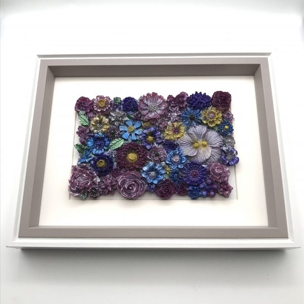 Flowers Galore Wall Hanging - Pink Mix