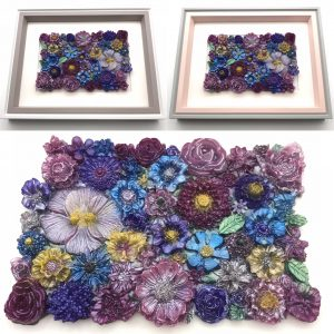 Flowers Galore Wall Hanging - Pink Mix Main