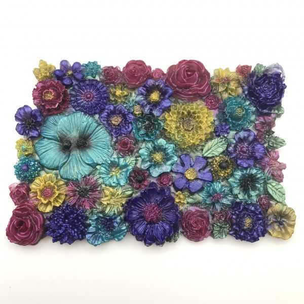 Flowers Galore Wall Hanging - Vibrant Mix
