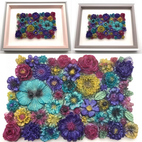 Flowers Galore Wall Hanging - Vibrant Mix Main