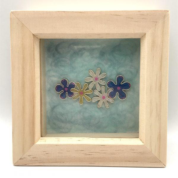 Framed Flower Wall Hanging