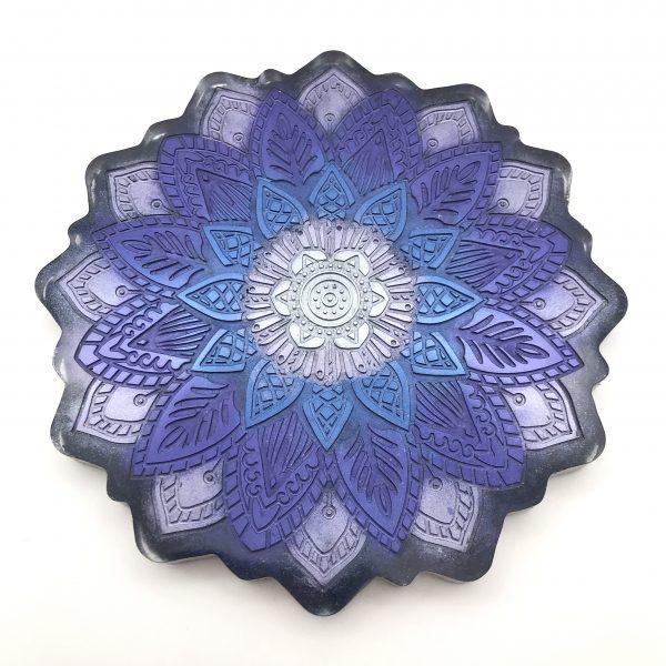 Mandala Wall Hanging - Purple Mix