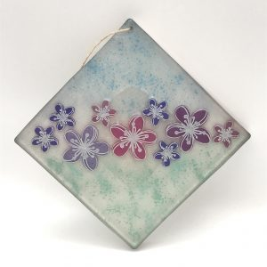 Square Flower Wall Hanging